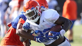 After deciding to stick it out, Lemons is Florida's wild card at running back