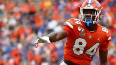 Receiver coach spent the weekend in Gainesville working with several Gators' players