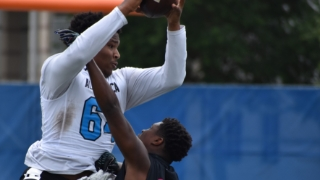 Florida commit puts pass-catching skills on display